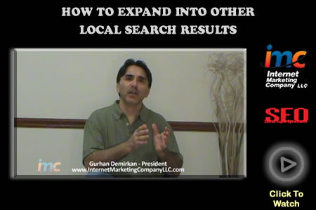 Expanding Into Other Local Search Results